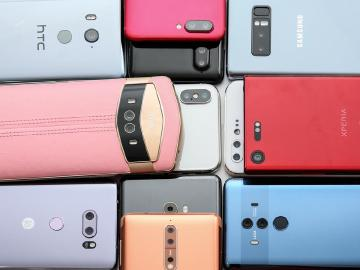 12款2017品牌高階手機 後鏡頭人像拍照比較