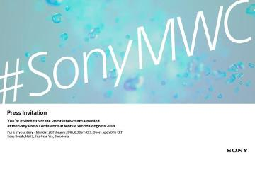 MWC開展當天Sony辦發表 Xperia新旗艦手機可望亮相