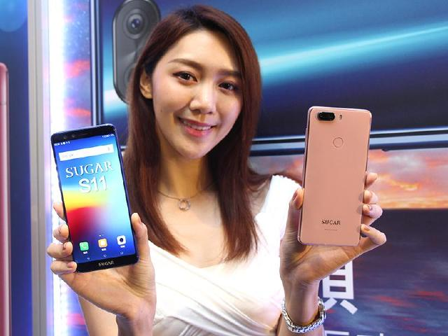 SUGAR S11四鏡頭18:9全螢幕手機發表 2月台哥大獨賣