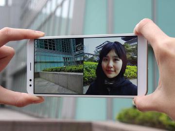前後同步雙拍 InFocus M7s全螢幕手機開箱