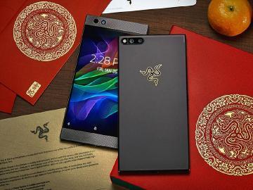 雷蛇手機Razer Phone應景推出新年金色限量版