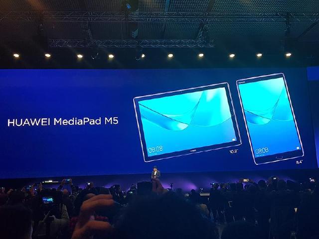 華為MediaPad M5平板發表 M5 Pro可搭配鍵盤與手寫筆[MWC 2018]