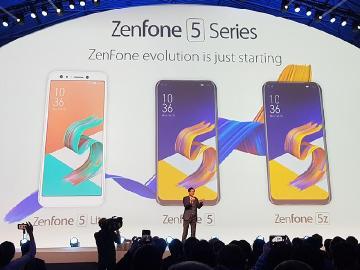 華碩ZenFone 5、5Z與5 Lite發表 3月中起陸續上市[MWC 2018]