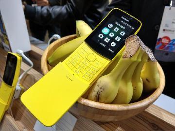 香蕉機經典再現 NOKIA 8110 4G台灣有望上市[MWC 2018]