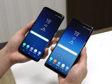 規格差異看比較!SAMSUNG S9+與Note8開箱