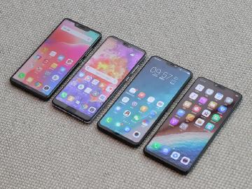 安卓瀏海全螢幕手機比較 vivo X21、OPPO R15、夏普S3、華為P20 Pro