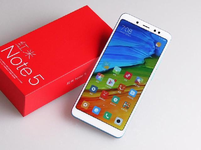 紅米Note 5中國版本開箱 18:9全螢幕、AI雙鏡頭規格