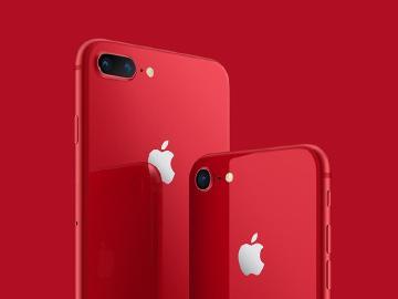 蘋果推iPhone 8與8 Plus紅色版 iPhone X只有保護殼