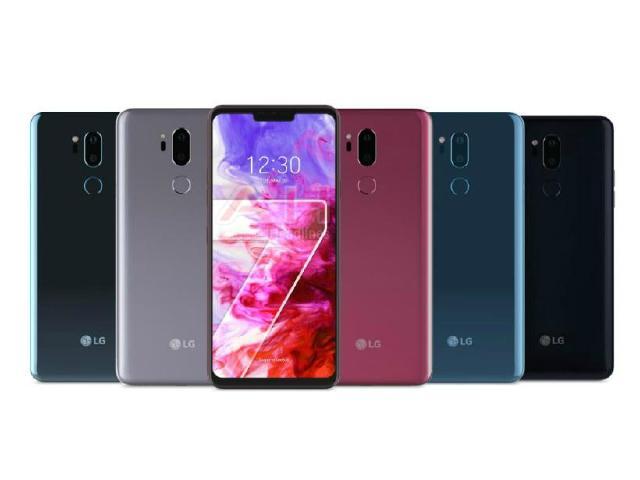 LG G7 ThinQ確認5/3發表 5色渲染圖疑洩