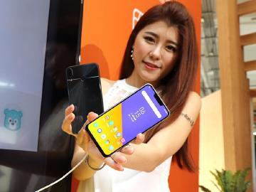 華碩AI雙鏡頭手機ZenFone 5 台灣上市價格11990