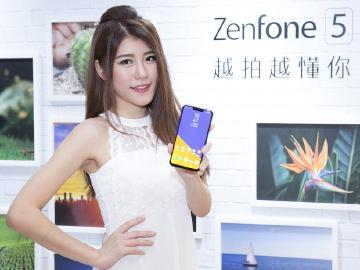 [動手玩]華碩瀏海屏手機ZenFone 5 搭載AI智慧雙鏡頭