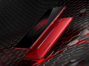 努比亞紅魔電競手機發表 背部有LED光條與散熱風槽