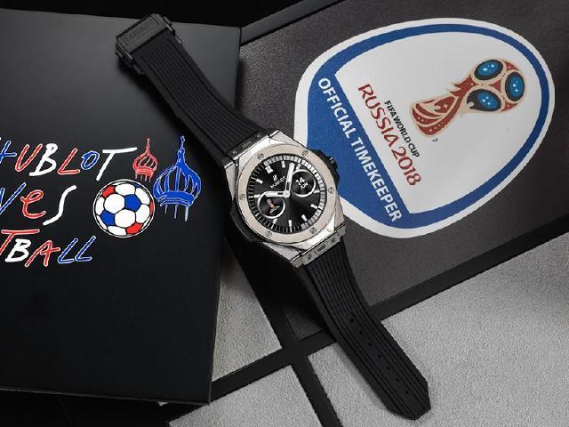 [動手玩]Hublot推安卓智慧手錶 Big Bang 2018世足賽官方腕錶