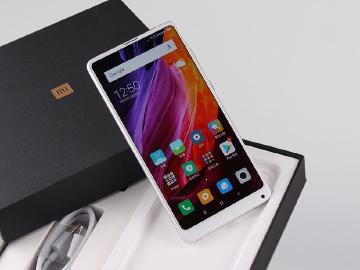 小米MIX 2S台灣上市開箱 AI雙攝、全螢幕手機