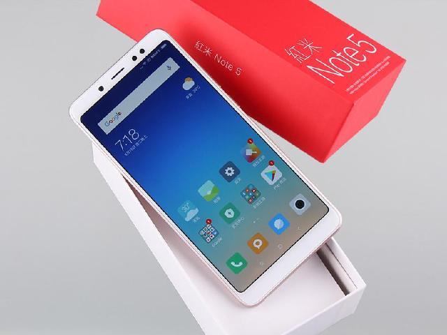 支援4G全頻規格!紅米Note 5台灣上市版本開箱跑分