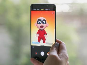 三星S9虛擬人偶新增6位超人特攻隊角色