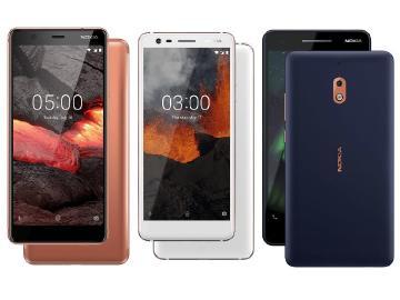 HMD於俄羅斯發表NOKIA 5.1、3.1與2.1入門規格手機