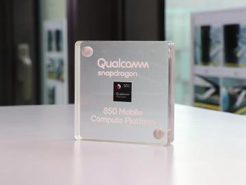 鎖定Win10行動PC 高通發表Snapdragon 850平台[Computex 2018]