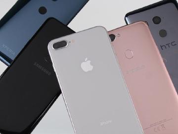 2018年Q1台灣前十款熱銷手機排行出爐 iPhone佔半數