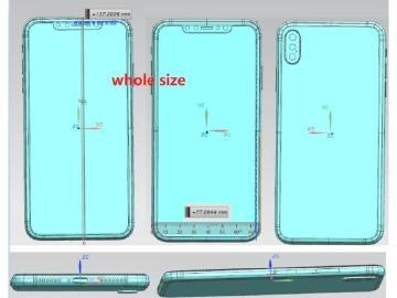 新iPhone模擬圖與尺寸疑洩 6.5吋版本傳擁有三鏡頭相機