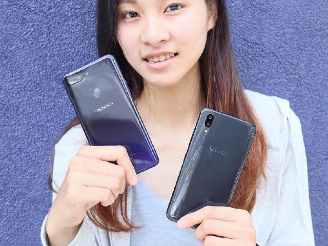 S660 AIE手機 OPPO R15 Pro與vivo X21比較