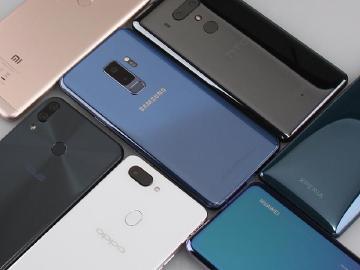 台灣2018上半年61款智慧型手機上市 6月竟有17款新機