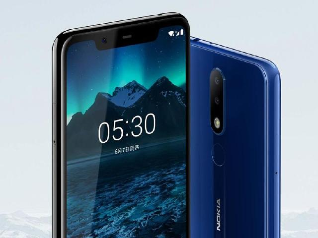 NOKIA X5平價手機發表 5.86吋瀏海螢幕、聯發科P60
