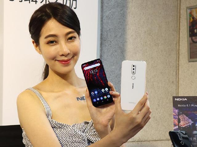 5.8吋瀏海手機NOKIA 6.1 Plus 台灣售價7990