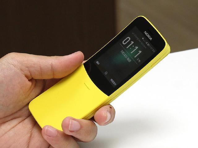 回不去了!香蕉機復刻版 NOKIA 8110 4G台灣開箱