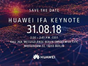 華為IFA活動8/31登場 Kirin 980新處理器傳平台將亮相