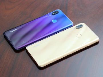 華為AI自拍手機nova 3系列 8月23日台灣發表