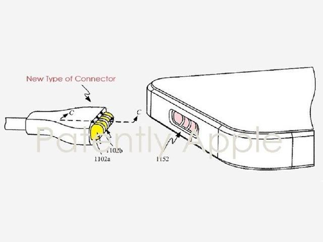 蘋果專利顯示iOS裝置可能改用磁吸式充電連接埠