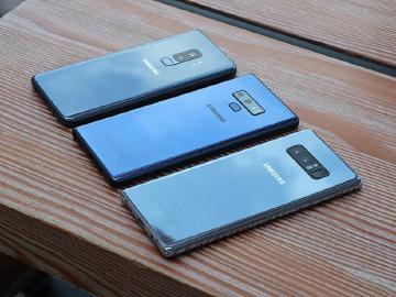 三星Note9、Note8與S9+旗艦手機 12MP主相機紐約拍照比較