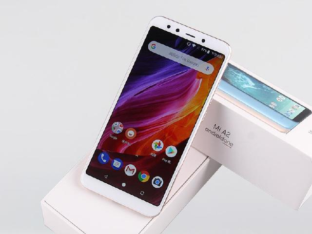 前後20MP 純粹Android One 小米A2開箱