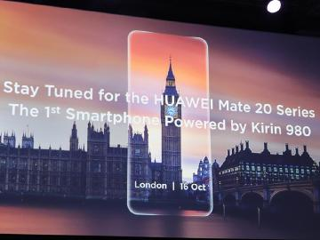HUAWEI Mate 20旗艦手機 10月16日倫敦發表