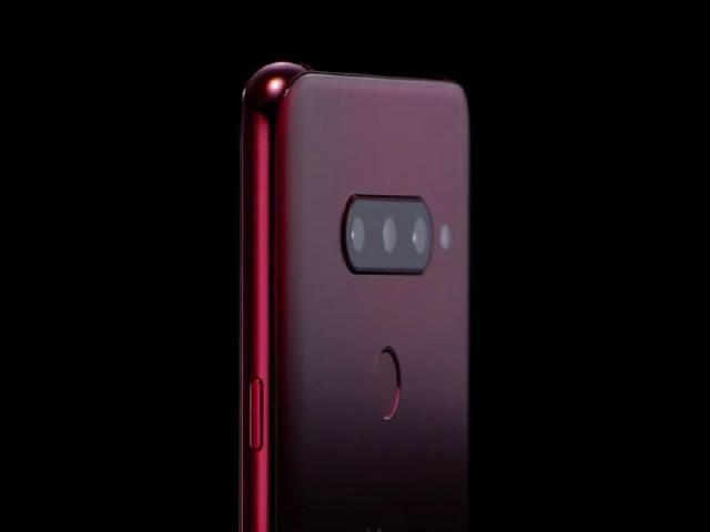 三鏡頭主相機 LG V40 ThinQ將有胭脂紅