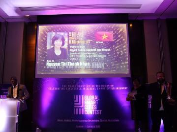 超越歐美!越南AIC集團榮獲2018「世界最佳智慧國家構想與模型」大獎