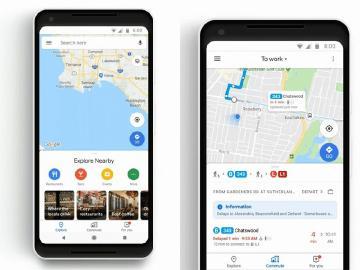 Google Maps新增即時路況提示與支援音樂播放