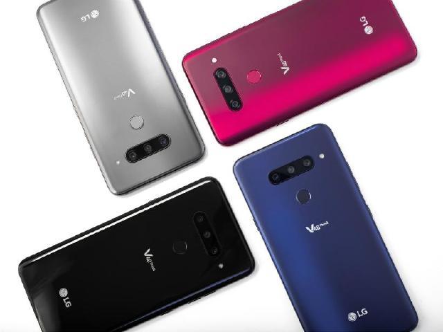 五鏡頭手機LG V40 ThinQ發表 Watch W7同步亮相