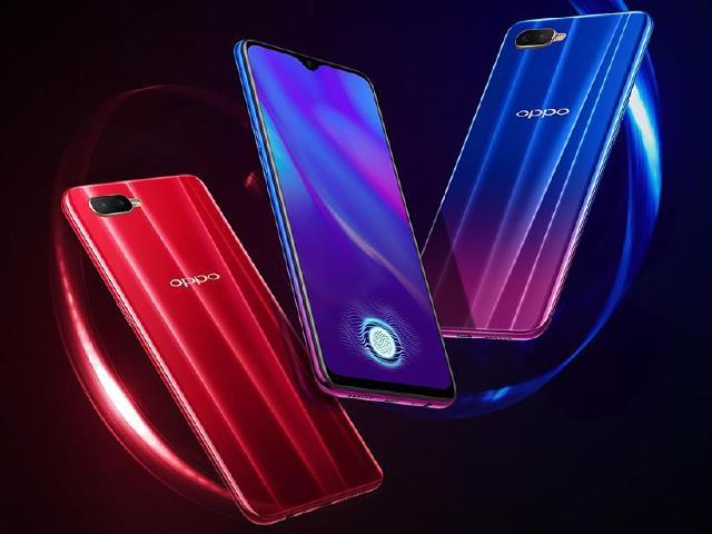 平價螢幕指紋辨識手機 OPPO K1中國發表