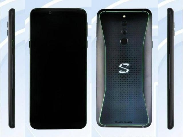黑鯊遊戲手機二代外型亮相 LED炫光效果吸睛