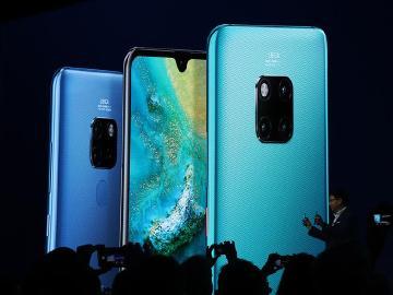 華為Mate20系列手機發表 徠卡三鏡頭、麒麟980加持