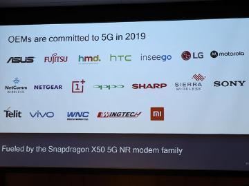 5G手機戰提前開打!高通總裁:2018年底前至少兩款問世