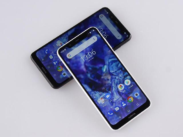 4G入門手機首選 NOKIA 5.1 Plus經典黑白雙色開箱