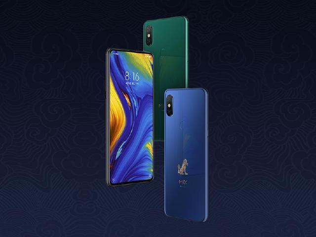 小米MIX3滑蓋全螢幕手機發表 11月下旬公布台灣上市資訊