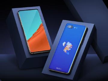 nubia X雙螢幕手機發表 雙側邊指紋辨識器