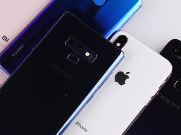 全球智慧手機出貨連4季衰退 Q3華為與小米同比高成長