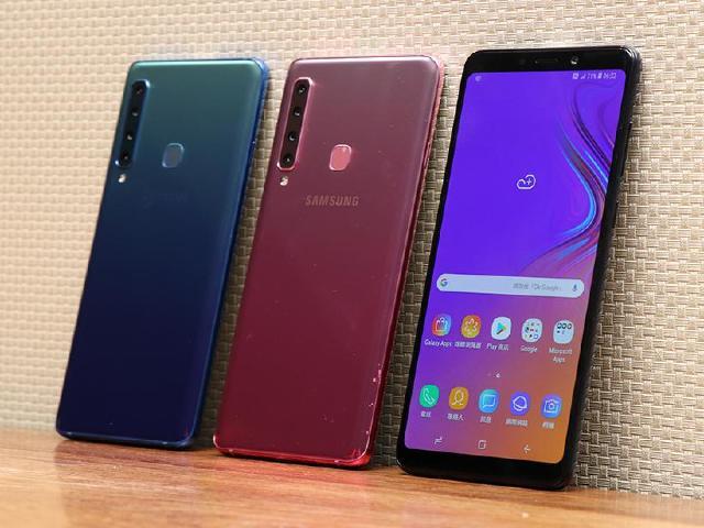 四鏡頭手機SAMSUNG A9 2018台灣11/9開放預購 12月上市