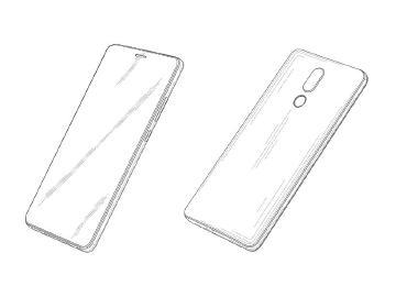 華為手機新設計專利曝光 全螢幕開孔洞放置聽筒