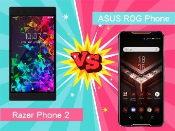 電競手機規格誰好?ROG Phone比Razer Phone 2更具競爭力